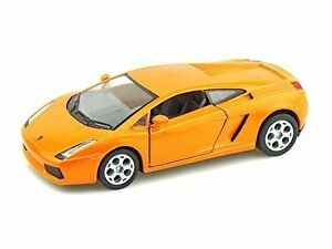 "Brand New Kinsmart 5"" Lamborghini Gallardo Diecast Model Toy Car 1:32- Orange"