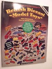 """BRITISH DIECAST MODEL TOYS,BOOK, 7.5""""x9.5"""",1984,176 FULL B&W PAGES,NEW CONDITION"""