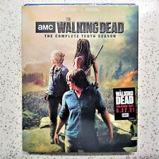 THE WALKING DEAD Tenth Season 10 BLU-RAY + DIGITAL New Sealed USA FREE SHIPPING
