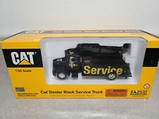 Caterpillar Cat Peterbilt Dealer Service Truck - Black Norscot 1:50 Scale #55138