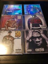 50 Cent and G Unit CD lot - The Massacre, Get rich, Curtis, Beg for Mercy, etc