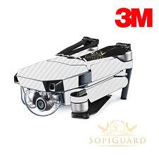 SopiGuard 3M White Carbon Fiber Skin Wrap Battery Controller for DJI Mavic Pro