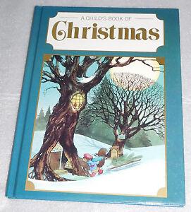 Child Book Christmas Ideals Patrick McRae Santa Elves Snow Traditions 1988 HC