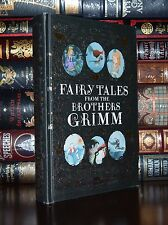 Brothers Grimm Fairy Tales Cinderella Illustrated Deluxe Gift Hardcover Edition