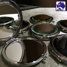 Crystal Folding Round Pocket Compact Makeup Cosmetic Mirror Portable JMIRR0101