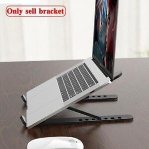 Laptop Stand Notebook Riser Computer Holder Black