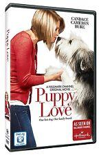 Puppy Love (DVD, 2013) Candace Cameron Hallmark dog movie drama Victor Webster
