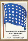 DRAPEAU United States America USA Pilot Jack Pavillon beaupré USA FLAG CARD 30s