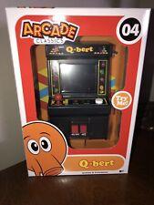 Q-Bert Mini Arcade Game- Arcade Classics. New