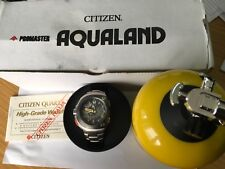 CITIZEN U101 AQUALAND PROMASTER ECO-DRIVE TITANIUM 200m Diver Man's Watch-Boxed