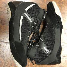 Brute Xplode Black Wrestling Shoes Adult Size 6