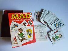 Mad Magazine Parker Brother Card Game 1980 Vintage