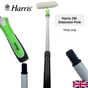 Harris Extension Pole 2m Paint Roller Extendable Long Handled Wall Ceiling DIY