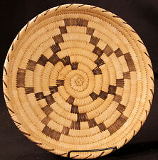 """Papago Basket with Star Outline 11 1/2"""" x 1 1/2"""""""