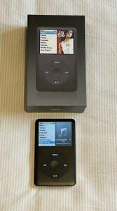 Apple iPod Classic 6th Gen 80GB Player Black Model A1238 MB147LL/A Excellent