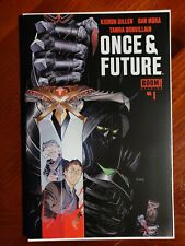 Boom Studios Once & Future #1 First Print Key First Issue Comic Book