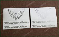 93-02 Trans Am Tail Light Center Filler Panel Decal Firebird Firehawk Formula