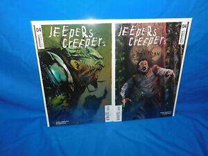 Jeepers Creepers #4 Marc Andreyko Dynamite Entertainment Cover A & B Baal
