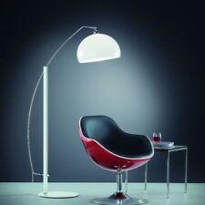 Lámpara de pie de interior para el comedor de cromo