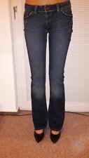 Big Blue, Jeans, bootcut, Schlaghose, Style Janet, dunkelblau, Größe 30/34