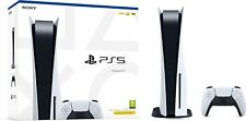 Sony Playstation 5 PS5 Console - Disc Blue-Ray Edition (Missing Stand/Base)
