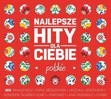 Najlepsze Hity Dla Ciebie Polskie ( NEW 2014 disc 3cd) CD POLISH POLSKI
