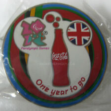 2012 London Summer Paralympic Coca Cola One Year To Go Pin