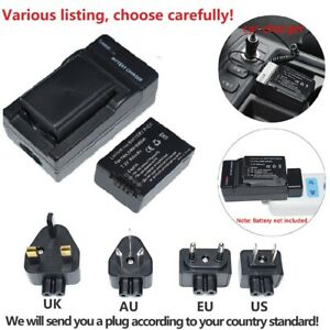 Replacement Battery or AC charger for Panasonic DMW-BMB9 DMW-BMB9E DMW-BMB9PP
