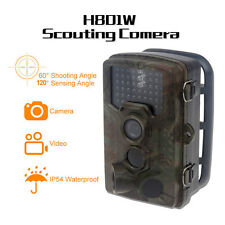 Wildlife Trai &Game Hunting Scouting Camera w/44pcs 940nm Invisible Infrared LED
