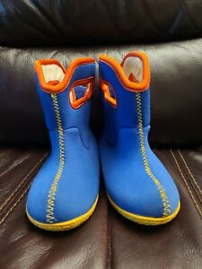 Bogs Blue Winter Snow Boots Infant Toddler Size 8