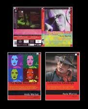 Andy Warhol - 3 Film - 4 Dvd Come Nuovi  Fuori Catalogo  Rari