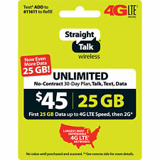 Straight Talk Phone Cards & Data Cards for sale | eBay