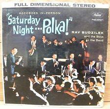 Saturday Night Polka (ST1300)  Ray Budzilek & The Boys in the Band Vinyl Album