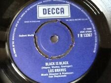 "LOS BRAVOS . BLACK IS BLACK  . 1966 . 7""  MINT VINYL SINGLE"