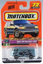 Matchbox #72 1967 VW Delivery Van With MB 2000 Logo New On Card