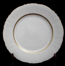 """Old Ivory / Scallop Gold Trim BY Syracuse DINNER PLATE 10 1/2"""""""