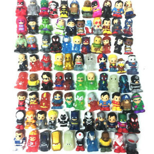 Random 30x Ooshies DC Comics Marvel Disney WWE Series Pencil Toppers Figure Toys