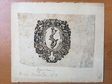 Marque Typographique - ANTOINE TARDIF - Festina Tarde - 16è/17è - Ex Libris