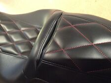 2011-up Harley Street Glide Cross Stitch Seat Cover