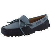 Cole Haan Mens Gunnison II Suede Driver Shoe, Blue Graphite, US 7.5
