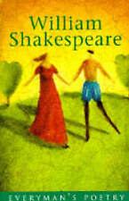 Shakespeare: Everyman's Poetry (Everyman Poetry), Shakespeare, William, New Book