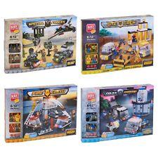 Block Tech Construction Building Bricks Blocks Set Kids Educational Toys Figures