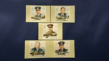 1986 HISTORY OF THE ROYAL AIR FORCE STAMPS PHQ CARDS WITH LONDON F.D.I. POSTMARK