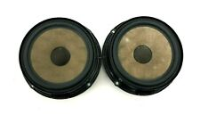 GENUINE VOLKSWAGEN POLO 9N3 FRONT DOOR SPEAKERS PAIR 6Q0035411 2001-2010