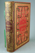 La Révolution 1789-1882 D'HERICAULT Dumoulin 1883 Gravures BEAU CARTONNAGE
