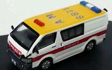 Free Shipping!!! Best Choose 1:76 Toyota Hiace Police Van Version 2