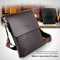 POLO VIDENG Men's High Quality Leather Shoulder Messenger Handbag Briefcase A+++