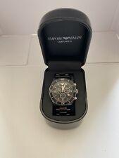 Emporio Armani Ceramica AR1421 Wrist Watch for Men(REQUIRES BATTERY)