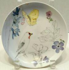 Hallmark Marjolein Bastin Nature's Sketchbook Bird Butter Fly Plate T49