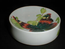 Mikasa #A7722 Bone China Michael Lax Butterfly SILK LADY Round Dish (loc-comp)